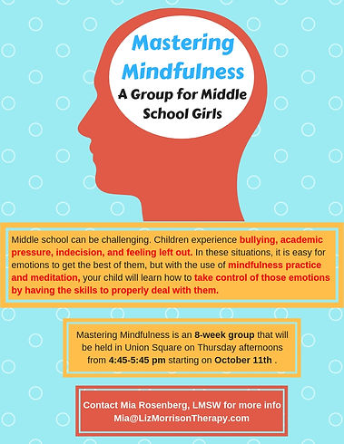 Mastering Mindfulness for Middle School Girls