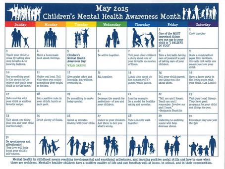 Children's Mental Health Awareness