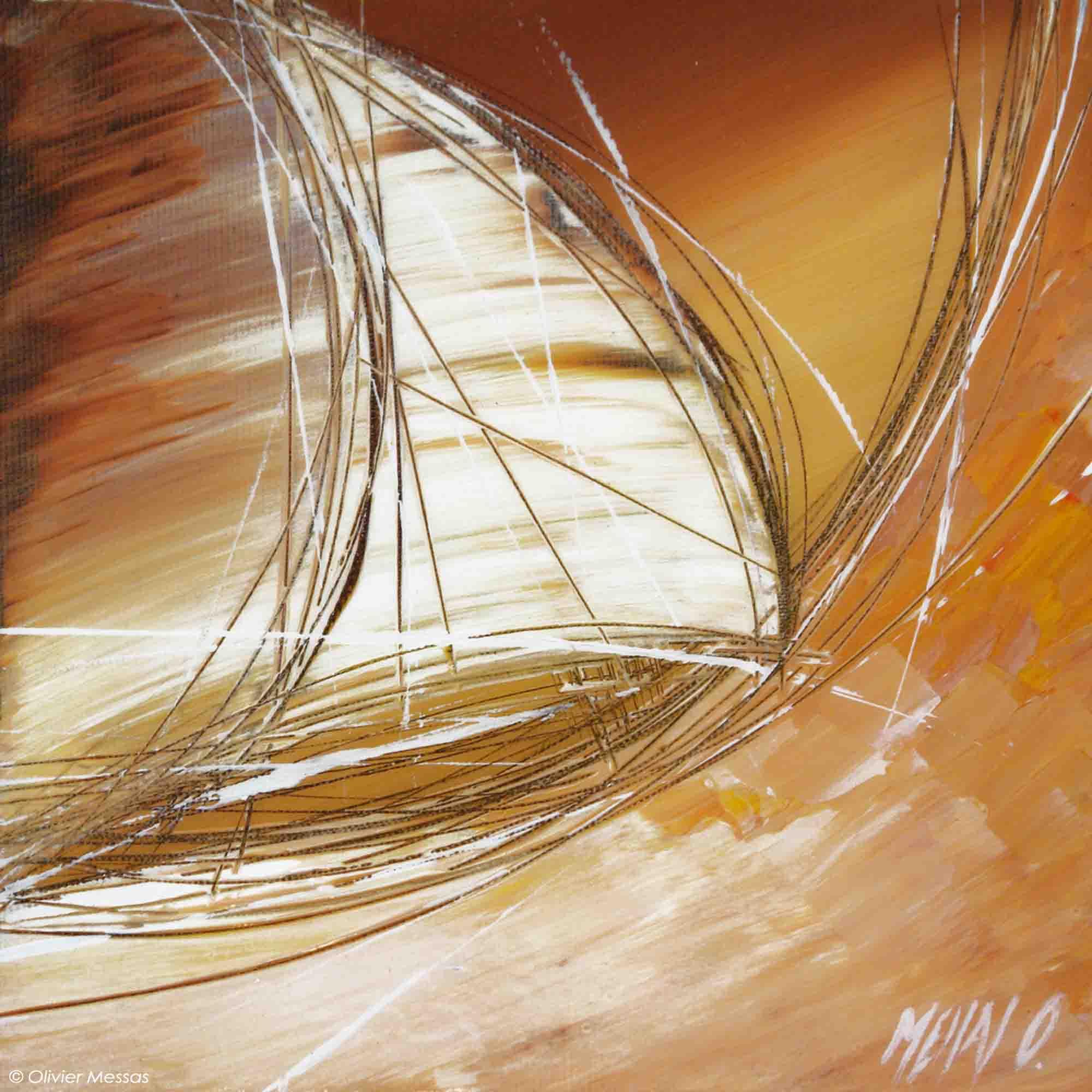 Le vent dans les voiles - 20/20cm