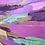 Thumbnail: Le parfum des lavandes... | 100x180cm
