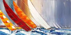 Un vent de Liberté... II, 60x120cm