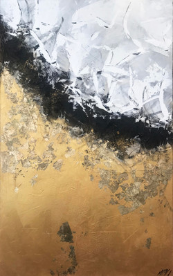 Reflets d'or | 160x100cm