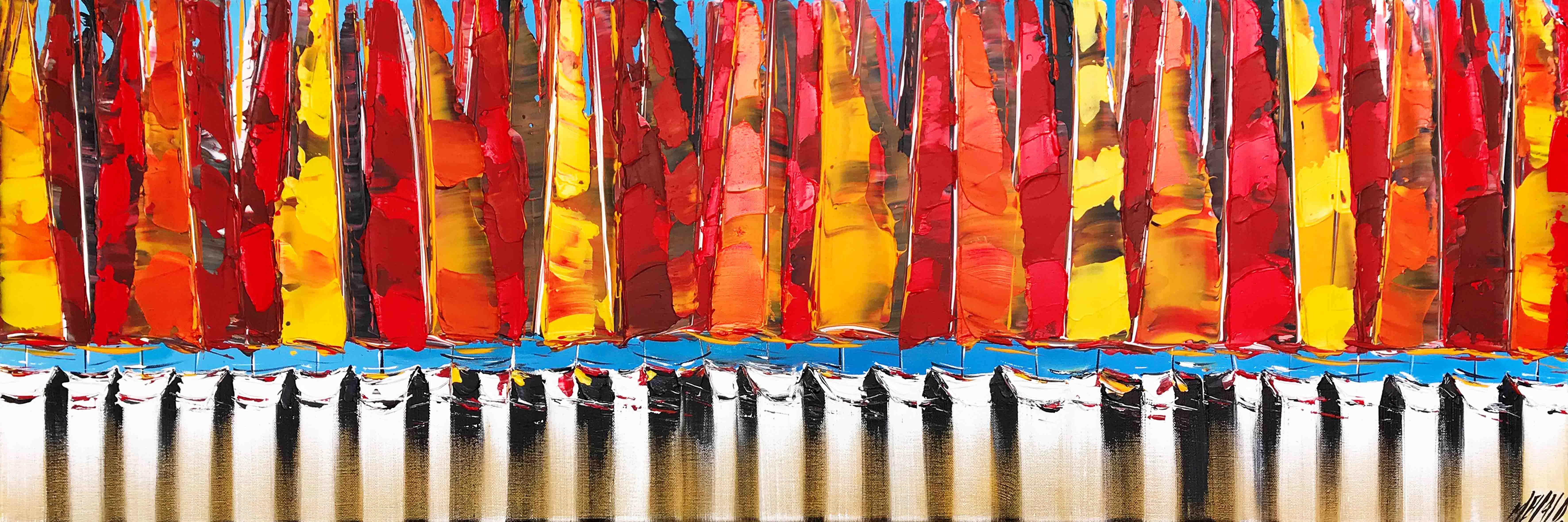 Parade..., 40x120cm
