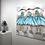 Thumbnail: Les danseuses bleues.. | 100x100cm