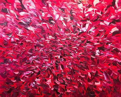Passion...   120x150cm (Oeuvre disponible le 01-10-2020)