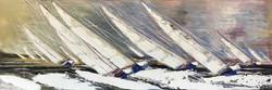 L'appel du vent, 40x120cm
