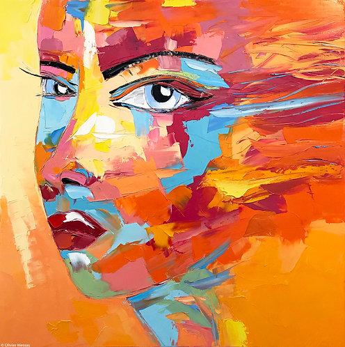 EDEN | Portrait 015 | 100x100cm