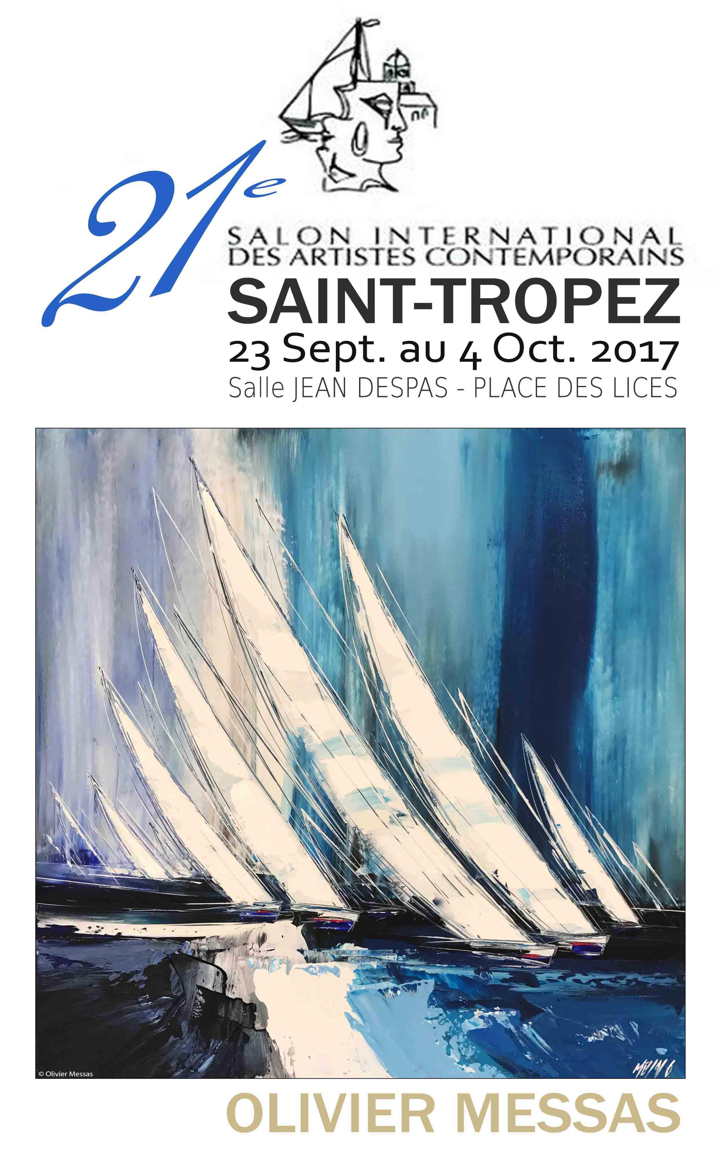 SALON DES ARTISTES DE St-TROPEZ