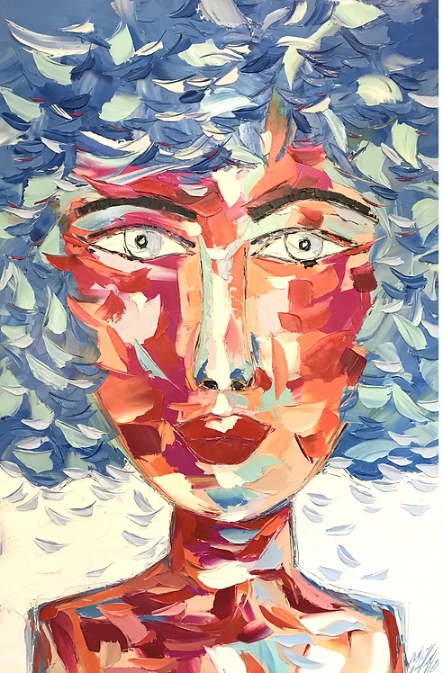 ANASTASIA | Portrait 025 | 120x80cm
