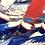 Thumbnail: La course au vent...   150x120cm