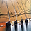 Thumbnail: Horizon de lumière... III | 40x120cm