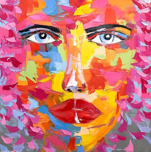 JIMMY | Portrait 016 | 100x100cm