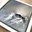 Thumbnail: Dans le creux de la vague... II | 20x20cm