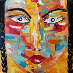 "MAY ""Portrait 17""   100x100cm (2020)"