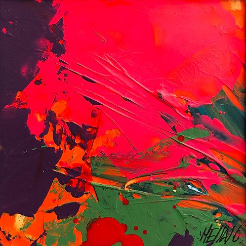 Libre comme l'air... | 9x9m (oeuvre sur papier encadrée)