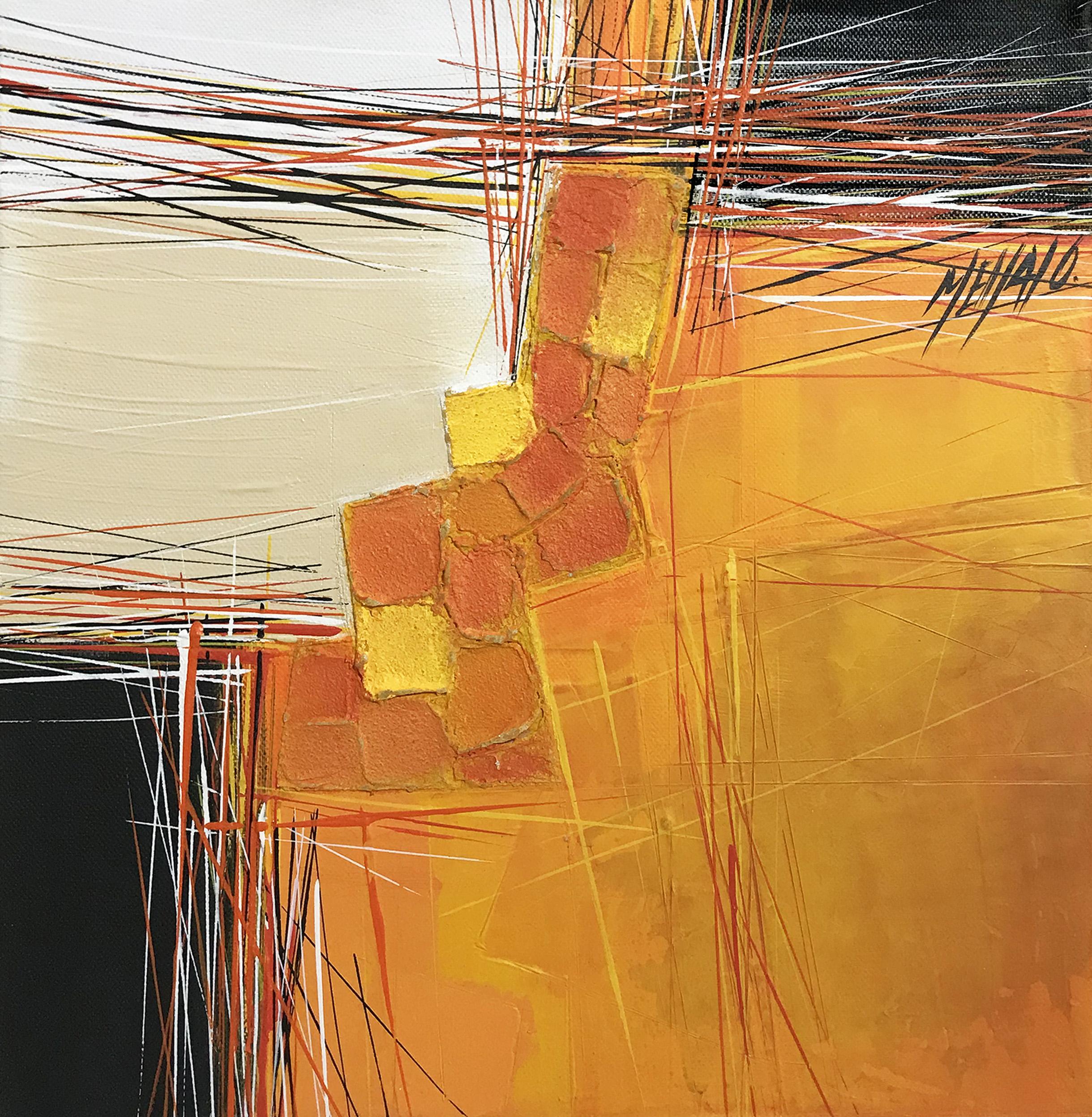 Paysage en orange... II | 30x30