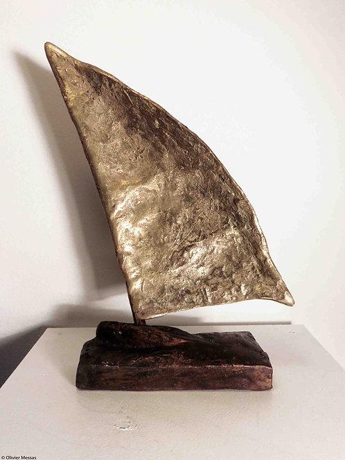 La petite voile dorée | 28cm
