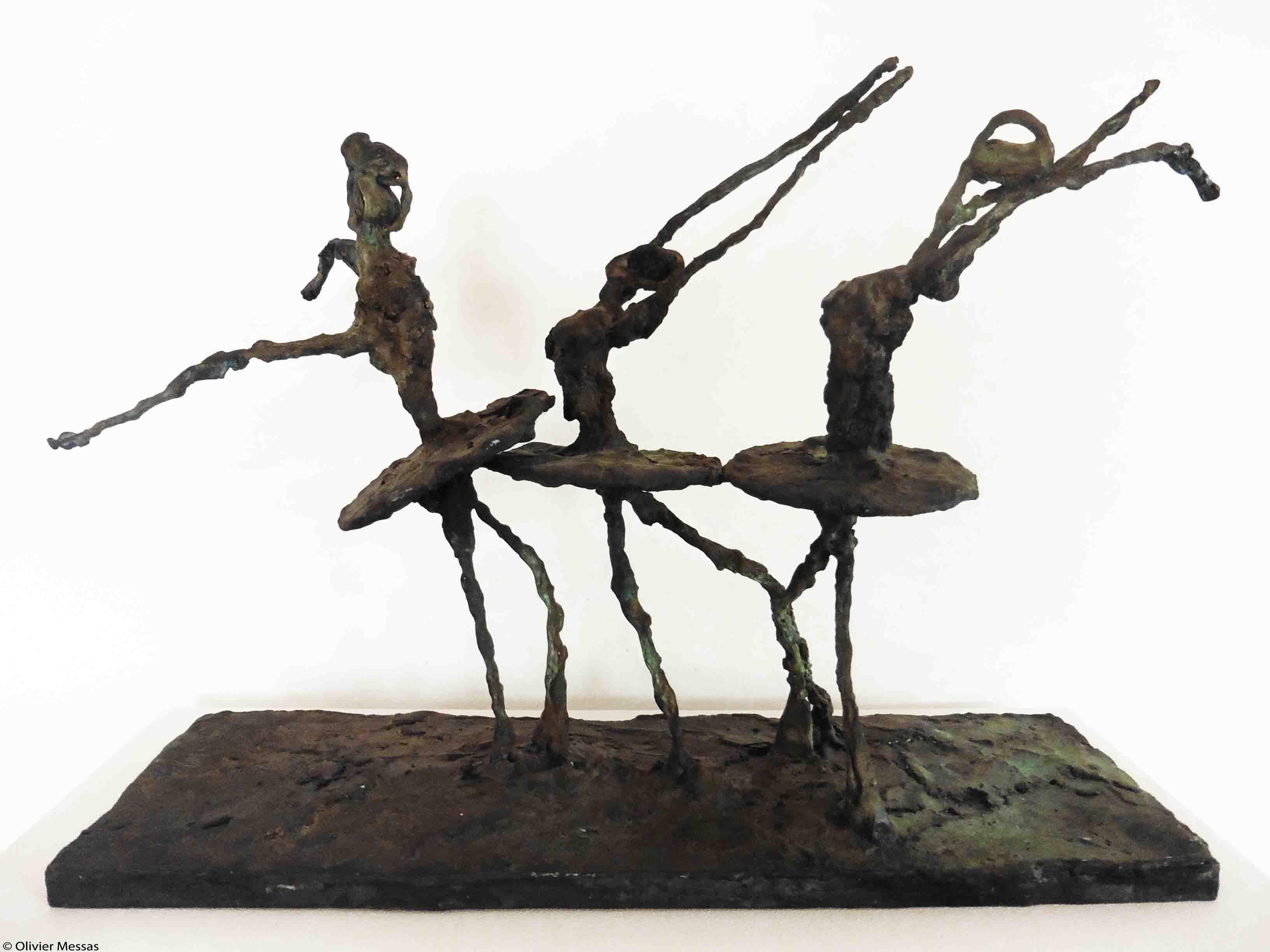 Les danseuses de ballet | vue 1