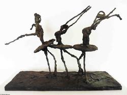 Les danseuses de ballet   vue 1