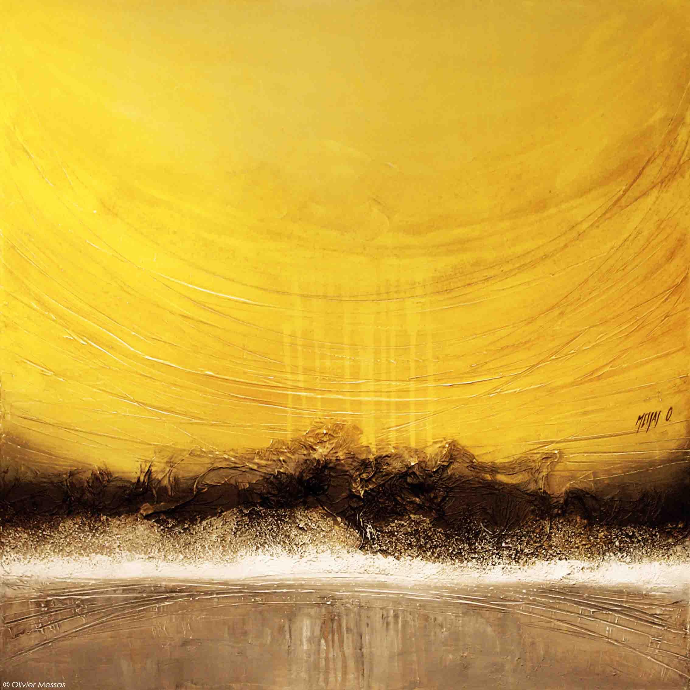 Horizon d'été... |  80 x 80 cm