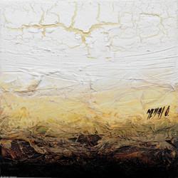 Horizon de lumière V, 20x20cm
