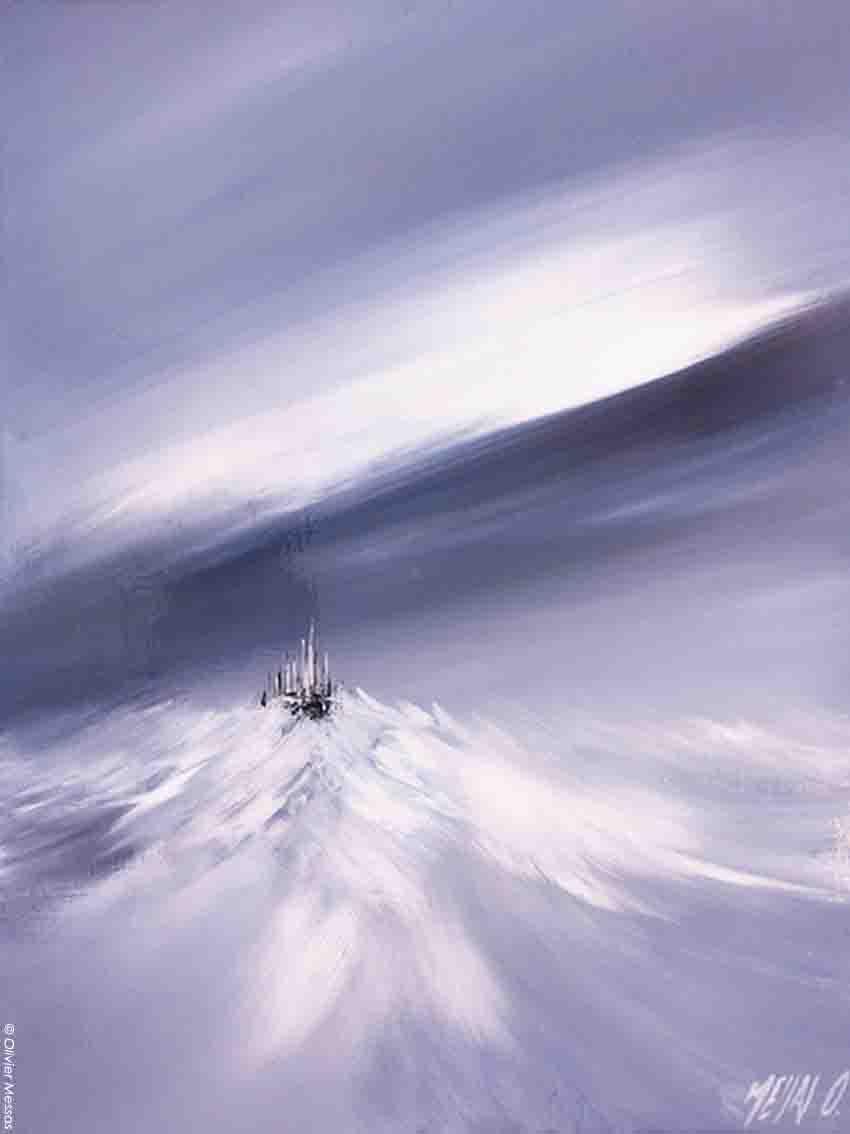 Un rêve au Mont St-Michel - 30/40cm