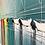 Thumbnail: Les couleurs du ciel et de la mer...   100x100cm