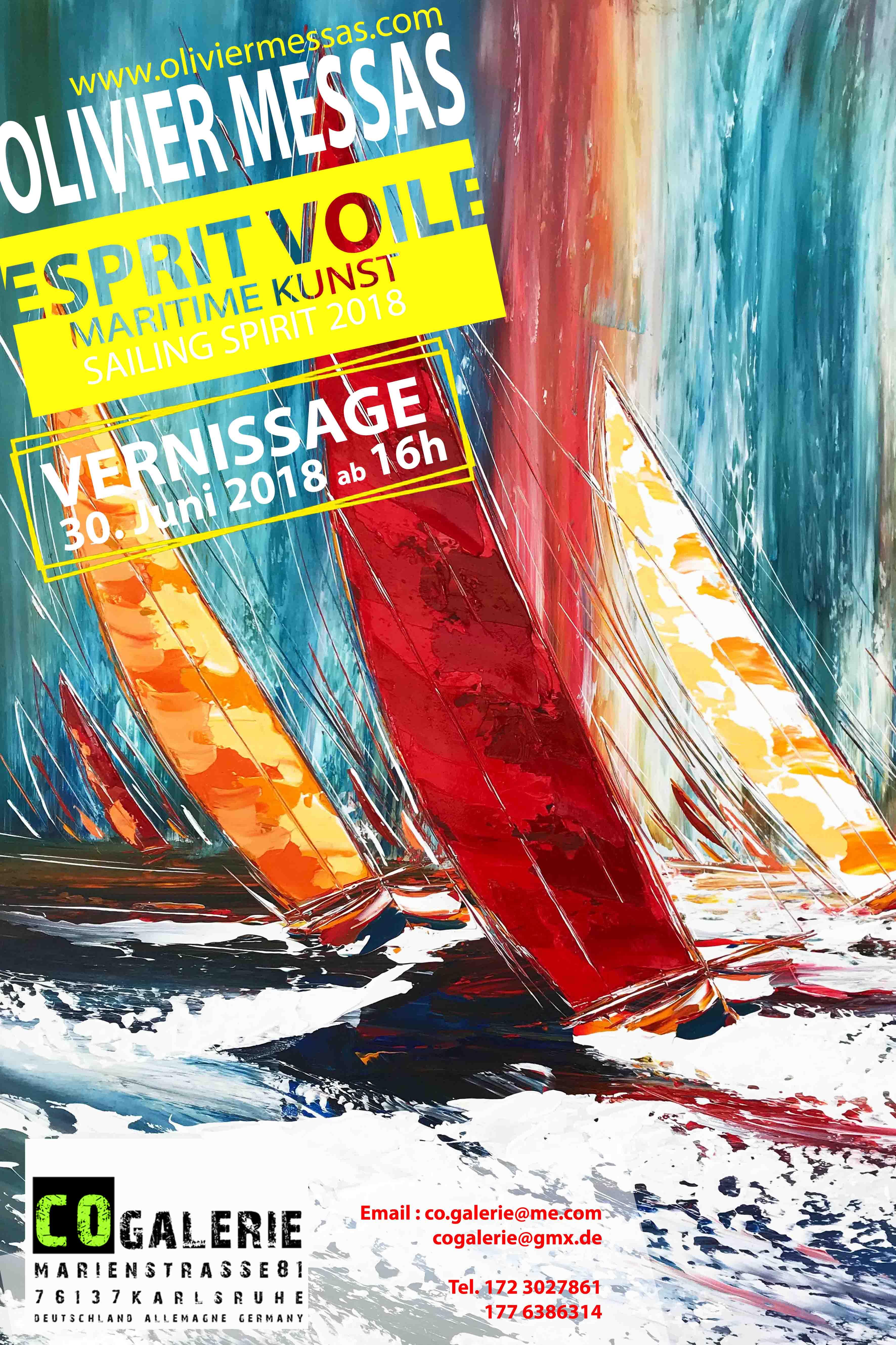 "VERNISSAGE ""Esprit Voile 2018"""