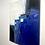 Thumbnail: Paysage en bleu... | 60x50cm