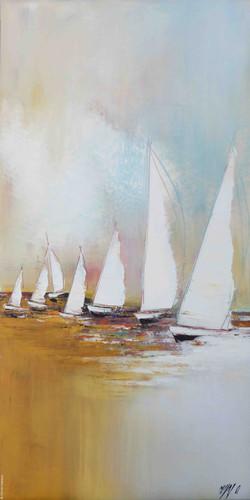 Voyage en voilier II, 100/50cm