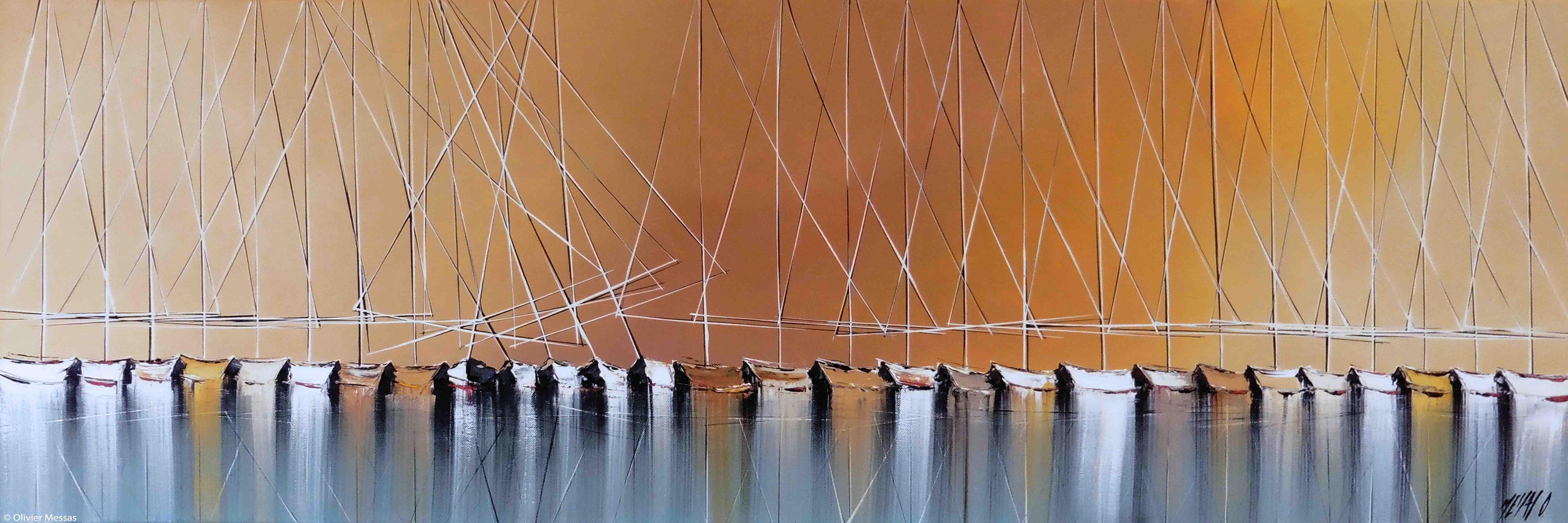 Jeux de reflet II, 40x120cm