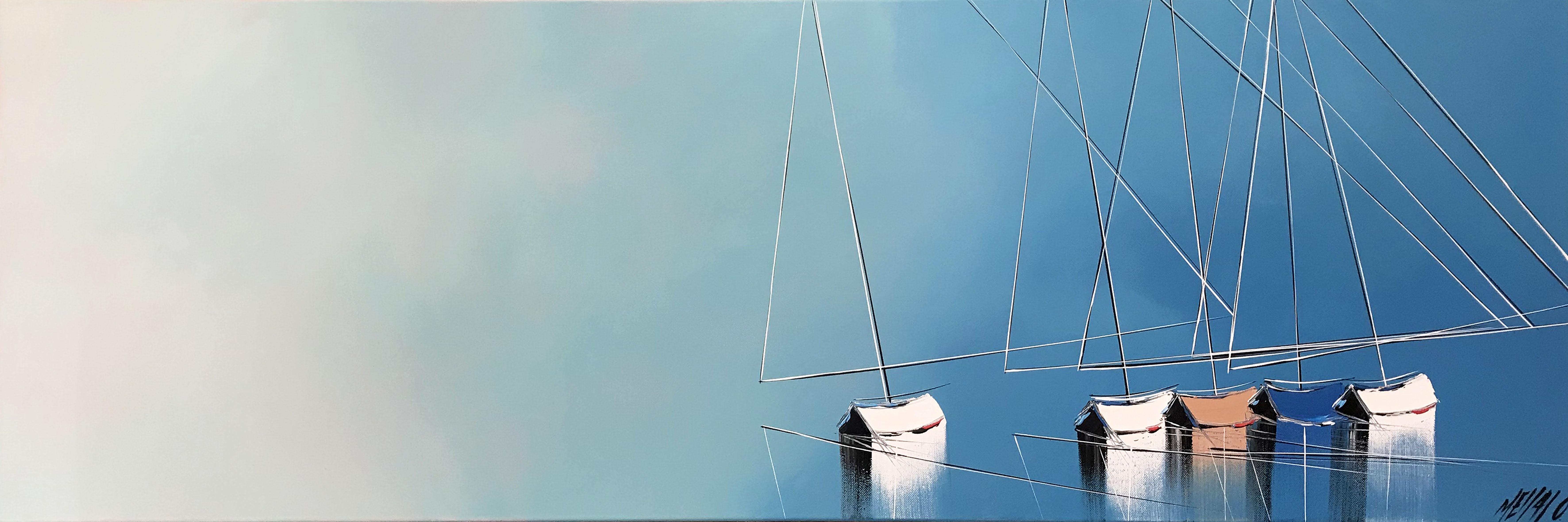 Un nouvel horizon...   40x120cm