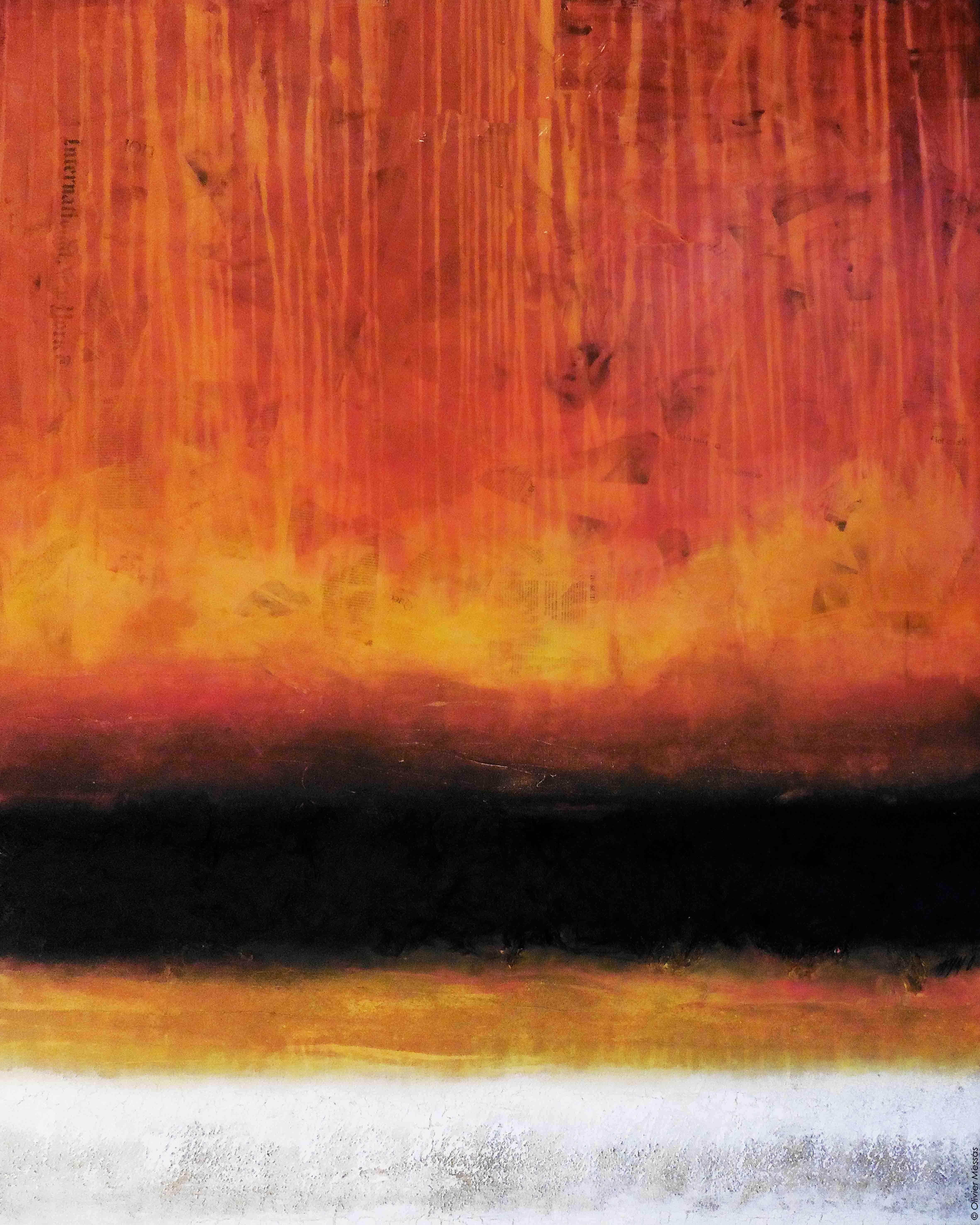 Atmosphère de lumière II, 150x120cm