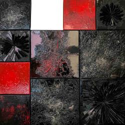 Composition 003 | 80x80cm | 2019