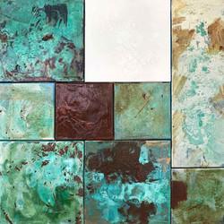 Composition 001 | 80x80cm | 2019