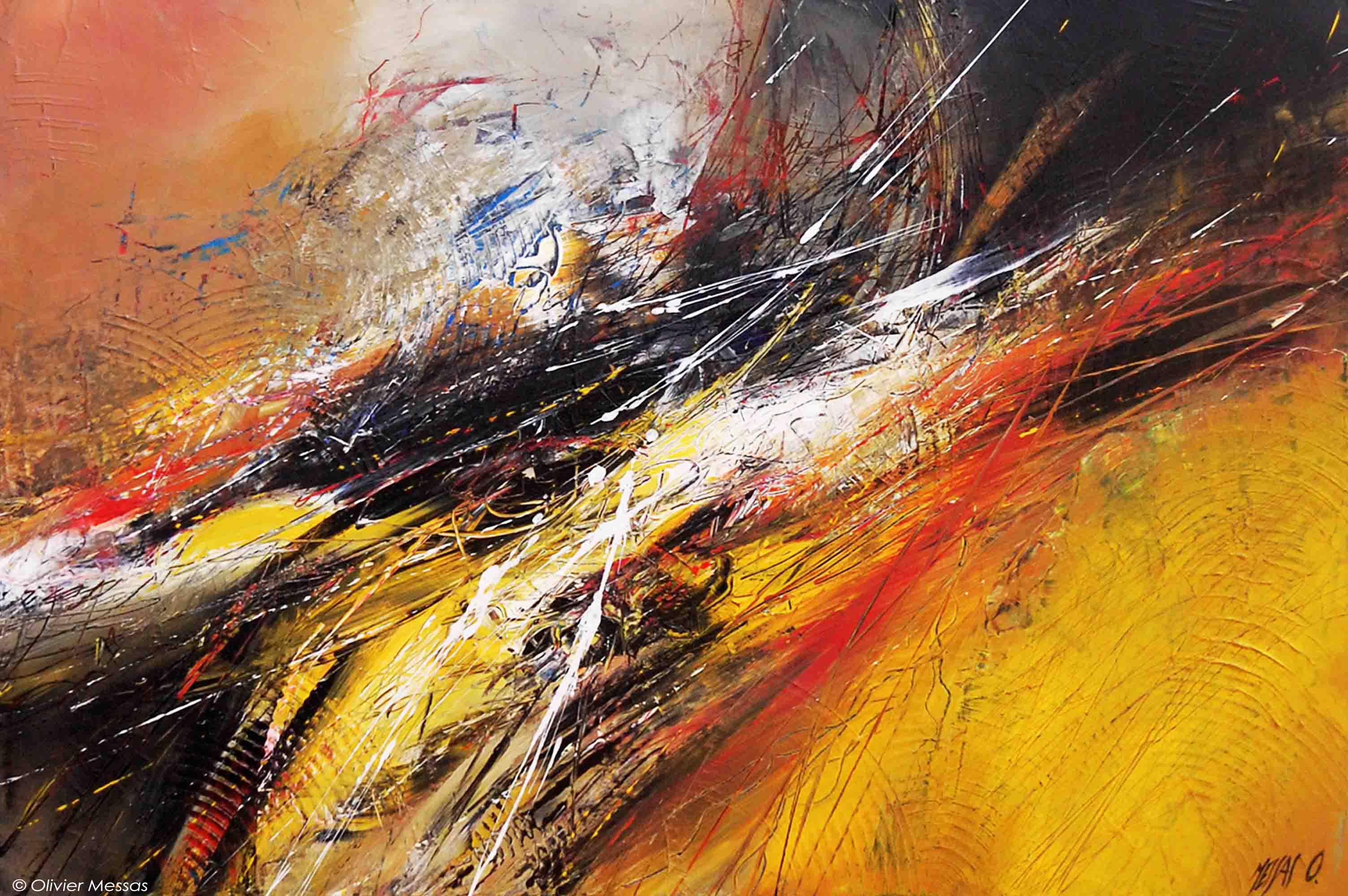 Expression libre II - 60cm x 90cm
