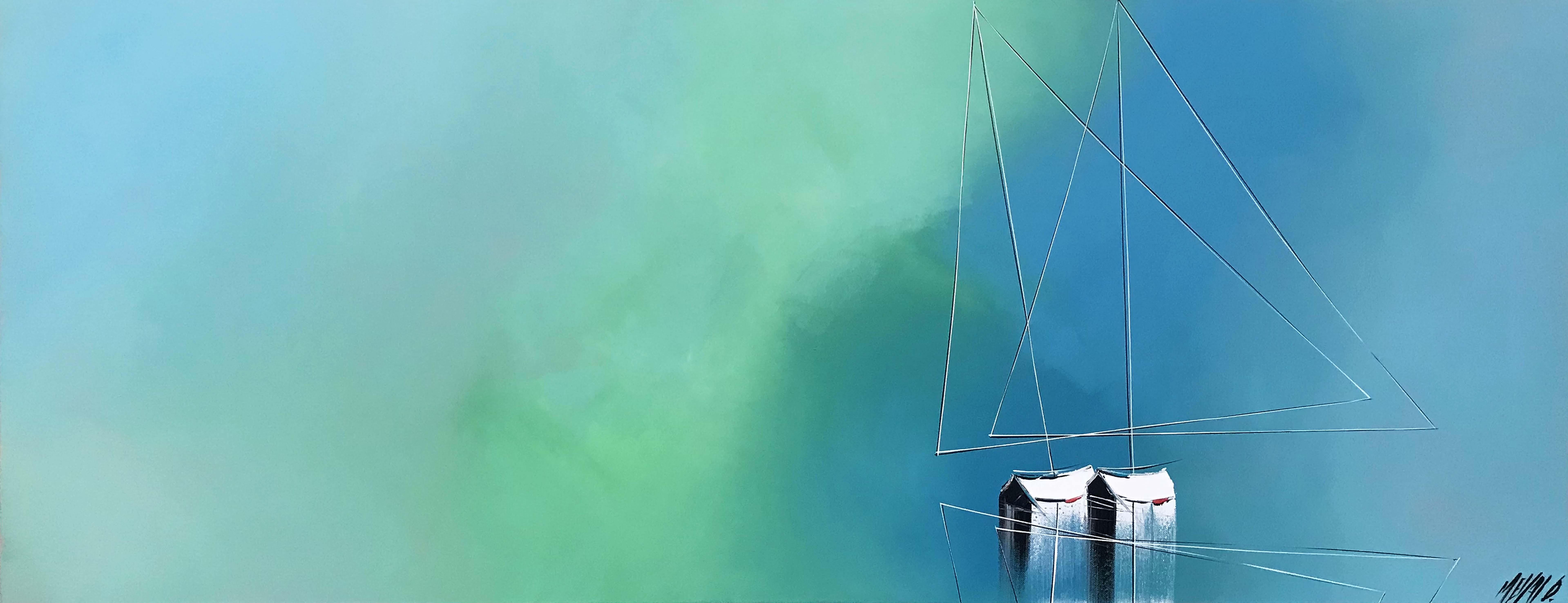 Douceur en mer...   50x130cm