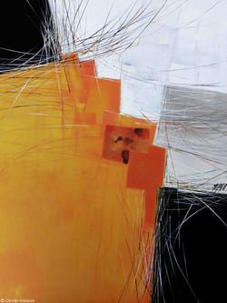 Paysage jaune II, 80cm x 60cm