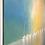 Thumbnail: Lumière et liberté en mer... | 120x120cm🔴