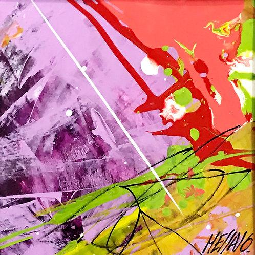 Mélodie... | 9x9m (oeuvre sur papier encadrée)