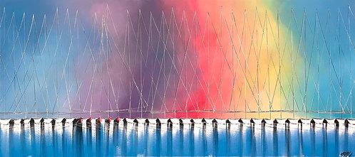 Horizon de liberté... | 80x180cm