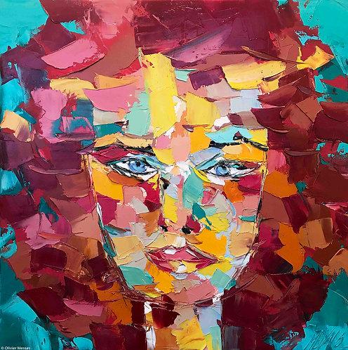 Lucie   Portrait 001   80x80cm