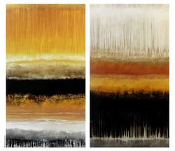 Horizon d`été..., 180cm x 200cm
