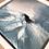 Thumbnail: Dans le creux de la vague...   20x20cm