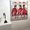 Thumbnail: Les amazones... | 100x100cm