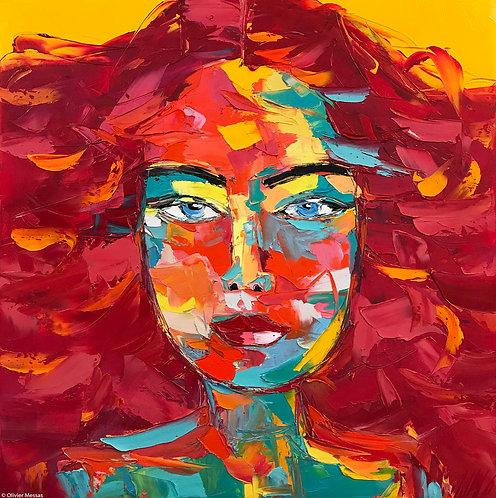 DIANA | Portrait 006 | 80x80cm