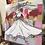 Thumbnail: La fille à la robe blanche... | 80x80cm