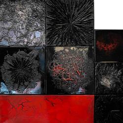 Composition 004 | 80x80cm | 2019
