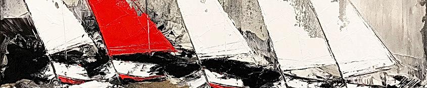 Le voilier rouge 60x120cm.jpg
