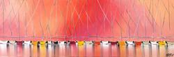 Passion à l'horizon... II, 40x120cm